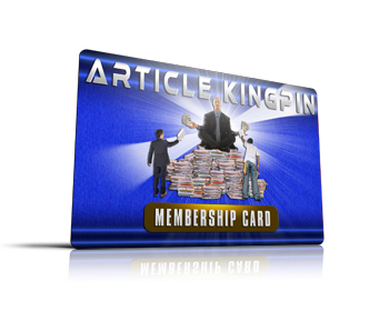 Article Kingpin Membership Card