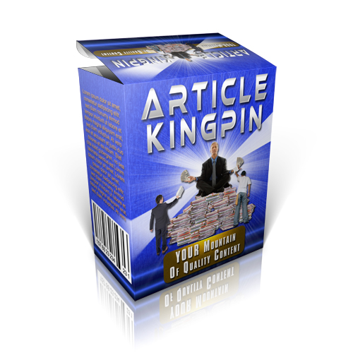 Article Kingpin Box of Content